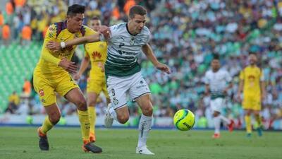 Los últimos cinco resultados que dejó el Santos Laguna vs. América