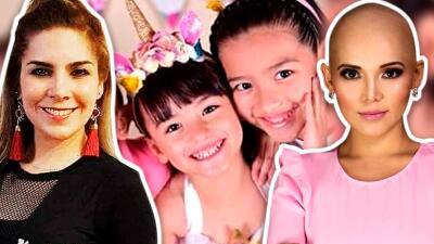 """Karla Panini llama """"hijas"""" a las niñas que la fallecida Karla Luna tuvo con Américo Garza (su actual esposo)"""