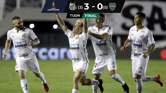 ¡Final brasileña! Santos elimina a Boca Juniors