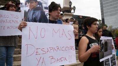 Exigen que el caso del estudiante Marco Antonio se investigue como desaparición forzada
