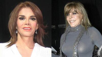 ¿Cuándo se reconciliarán Verónica Castro y Lucía Méndez?