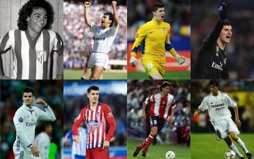Conoce el XI ideal de jugadores que han defendido ambos colores del Derbi Madrileño