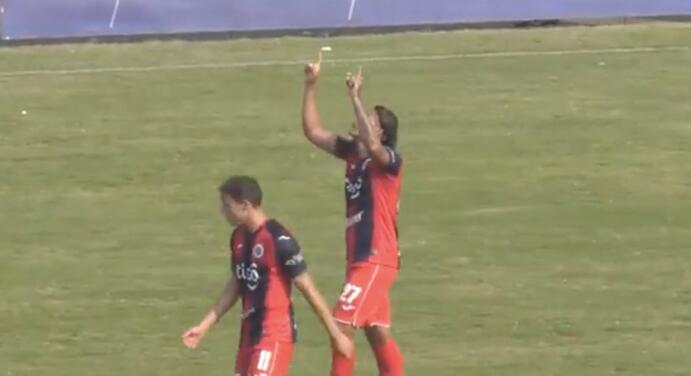'Gullit' Peña se estrena oficialmente como goleador del FAS