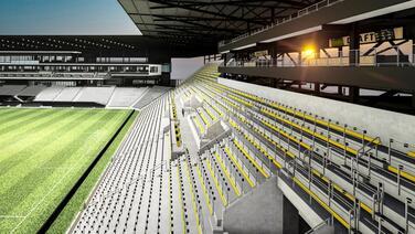 """""""Luce tremendamente bien"""": el nuevo estadio de Columbus Crew SC toma forma"""
