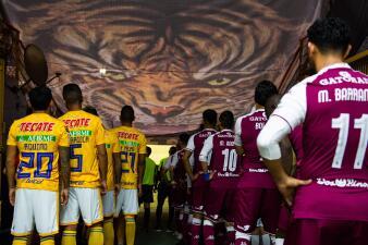 La fiesta de Tigres ruge contra Saprissa en la Liga de Campeones de Concacaf