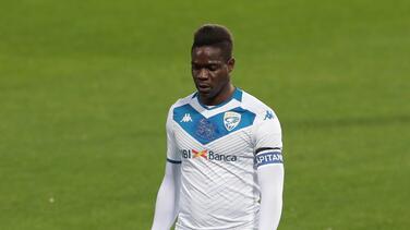 """Brescia está """"decepcionado"""" de Balotelli y saldría del equipo"""