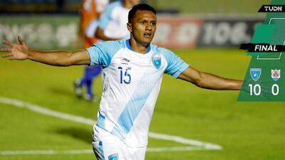 Guatemala se saca un 10