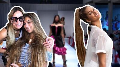 La hija de Lili Estefan acarició las pasarelas y ahora brilla con las sesiones de fotos como modelo