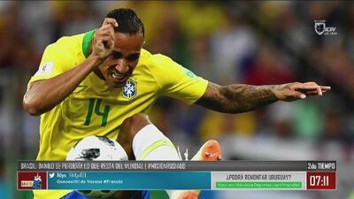 Malas noticias para Brasil previo al choque ante Bélgica de los cuartos de final