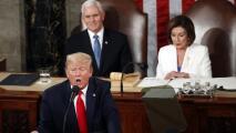¿Qué implican los gestos del presidente Trump durante su discurso del Estado de la Unión?
