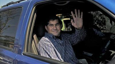 El náufrago salvadoreño, José Salvador Alvarenga, regresa al hospital