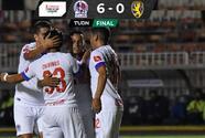 Olimpia golea a Managua y avanza en la Concacaf League