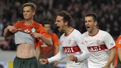 Stuttgart y el Werder Bremen firman un empate que les sabe a poco