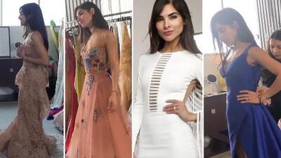 Mil y un vestidos: Alejandra Espinoza sigue en la frenética búsqueda del atuendo perfecto para Premio Lo Nuestro 2018