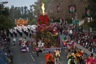Carrozas del Rose Parade