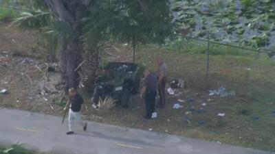 Muere oficial de la policía de Miami-Dade en un accidente de tráfico