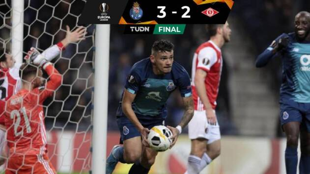 En un partidazo, Porto venció al Feyenoord y se clasificó