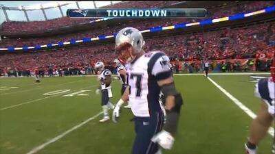 Touchdown de Rob Gronkowski