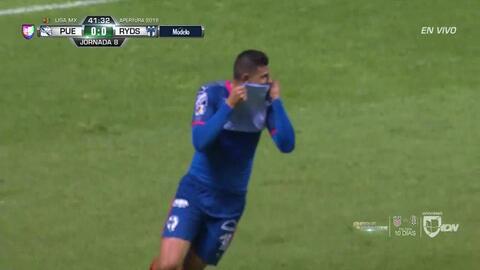 ¡GOOOL! Luis Madrigal anota para Monterrey