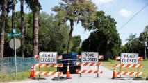 Autoridades trabajan contra reloj para evitar el colapso de una antigua planta de fosfato cerca la bahía de Tampa