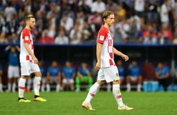 En fotos: Luka Modric no pudo brillar en la final de Rusia 2018 y Croacia lo sufrió