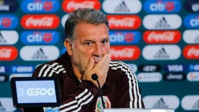 'Tata' Martino se encomienda a Dios para el sorteo de Copa Oro