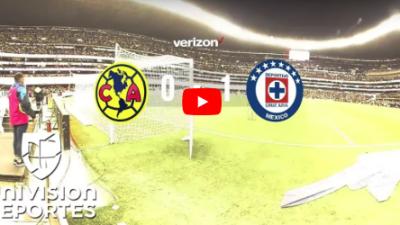 Una vista única del América vs Cruz Azul presentada por Verizon