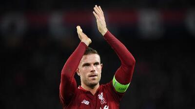 Jordan Henderson, decepcionado por la derrota del Liverpool en París