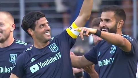 'Cracklitos' Vela exhibe la calidad de su zurda y marca un golazo para abrir la cuenta del LAFC