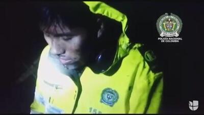 """Video del rescate de uno de los supervivientes: """"¿Dónde está Alex?"""", el lamento del técnico del avión de LaMia por sus compañeros"""