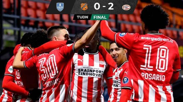 Erick Gutiérrez cumple 50 partidos en Europa con el PSV