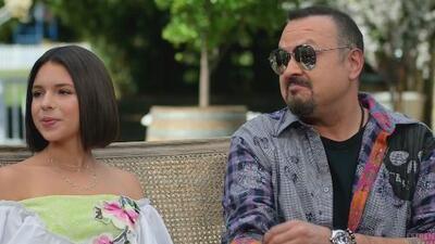 """La hija de Pepe Aguilar dejó bien claro que su papá no quiere """"hijos burros"""" en su entrevista para 'Aquí entre nos'"""