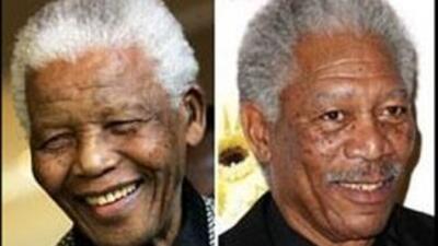 Hablan dos de los actores que dieron vida a Nelson Mandela en el cine
