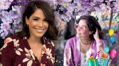 Plena, bendecida y dichosa: así llega Karla Martínez a los 43 años