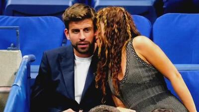 Shakira y Gerard Piqué se mostraron muy románticos en un juego del tenista Rafael Nadal
