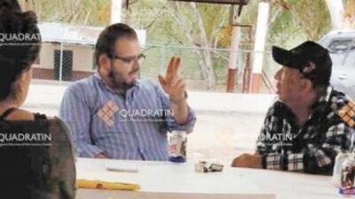 El hijo del exgobernador de Michoacán es interrogado por el video con La Tuta
