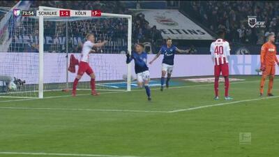 Con fortuna Schalke retoma la delantera