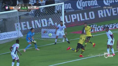 ¡De nuevo Rodríguez! Ferreira falló una clara