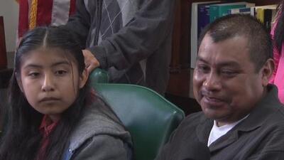 Se presentó en corte Mario Vargas, padre de la menor que le pidió al papa por los inmigrantes
