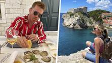 El 'Canelo' Álvarez presume fotos de su luna de miel con Fernanda Gómez en Croacia