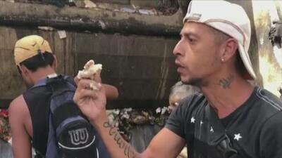 Venezolanos comiendo de la basura: el video que incomodó a Maduro