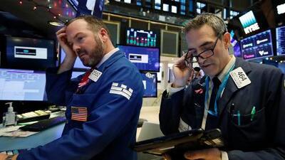 La Bolsa de Nueva York cierra al alza tras una caída de hasta 600 puntos durante la jornada
