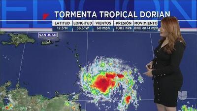 Dorian podría impactar Puerto Rico como huracán categoría 1