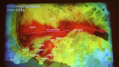 Sube el riesgo de un gran terremoto en California para los próximos días