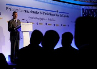 Fotos: Univision Noticias recibe el premio Rey de España