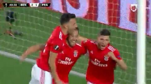 Rúben Dias clavó el tercero para el Benfica