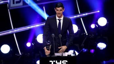 Thibaut Courtois fue elegido el mejor portero del mundo