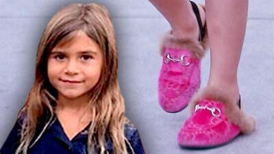 Con mocasines de 400 dólares, la hija de Kourtney Kardashian regresa a la escuela