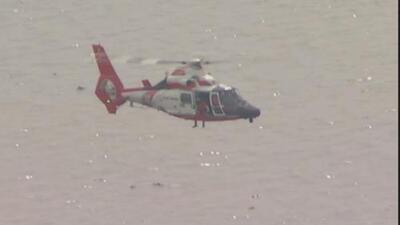 Identifican a dos de los tres tripulantes de la aeronave que se desplomó al este de Houston