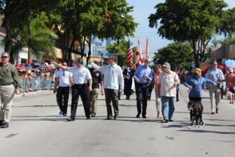 El desfile de los Tres Reyes Magos 2014